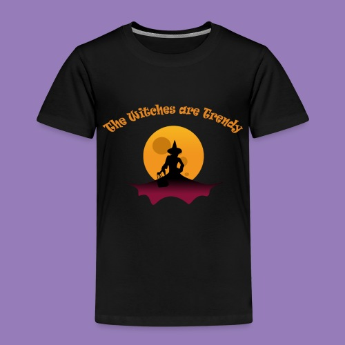 the witches are trendy - T-shirt Premium Enfant