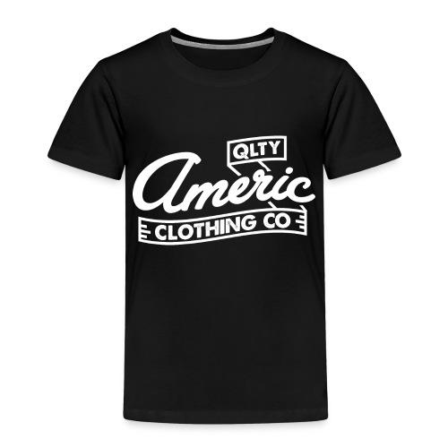 white logo - Kinderen Premium T-shirt