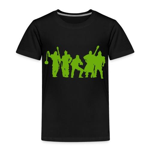 Jugger Schattenspieler gruen - Kinder Premium T-Shirt