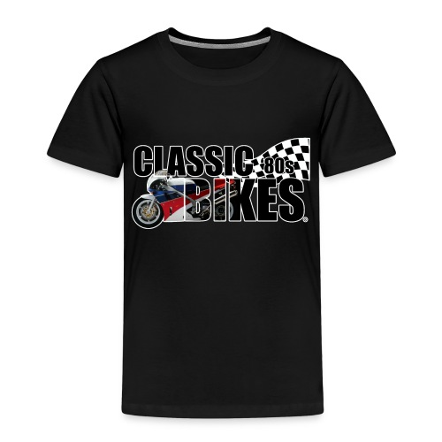 Classic Bikes 80s - Kinderen Premium T-shirt
