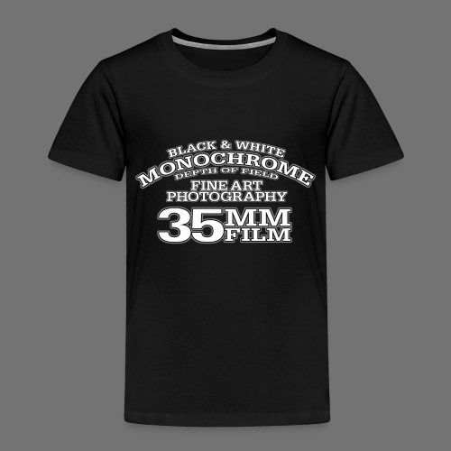35mm white Photography - Kids' Premium T-Shirt