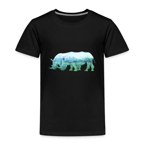 RHINOS, DIE NASHÖRNER IN DEN ALPEN - Kinder Premium T-Shirt