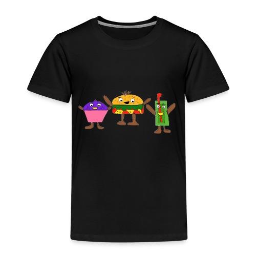 Fast food figures - Kids' Premium T-Shirt