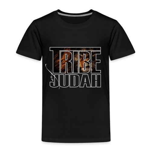 The Lion is of the Tribe of Judah Jesus - Kinder Premium T-Shirt