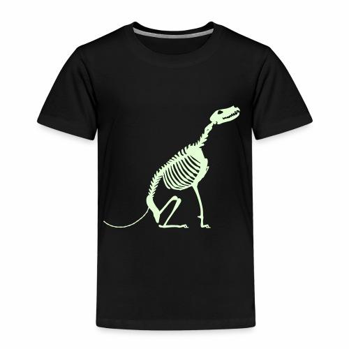 Istu Luuranko Sit Skeleton - Lasten premium t-paita