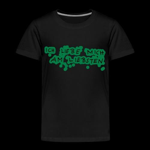Ich liebe mich am liebsten - Kinder Premium T-Shirt