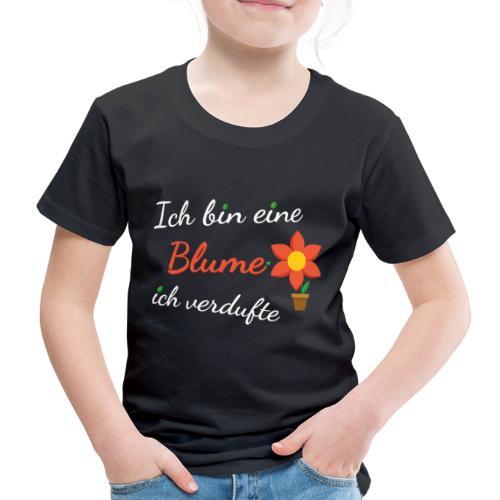 Blume Garten Gärtner Florist Shirt Geschenk - Kinder Premium T-Shirt