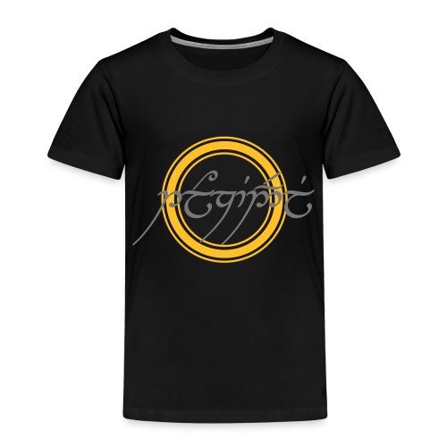 Tolkiendil en tengwar (écusson & dos) - T-shirt Premium Enfant