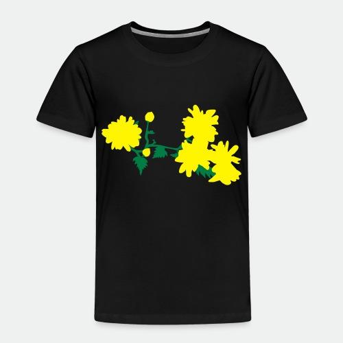 Asian flowers - Kids' Premium T-Shirt
