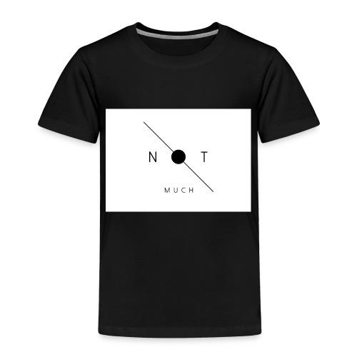 not much WHITE jpg - Kids' Premium T-Shirt
