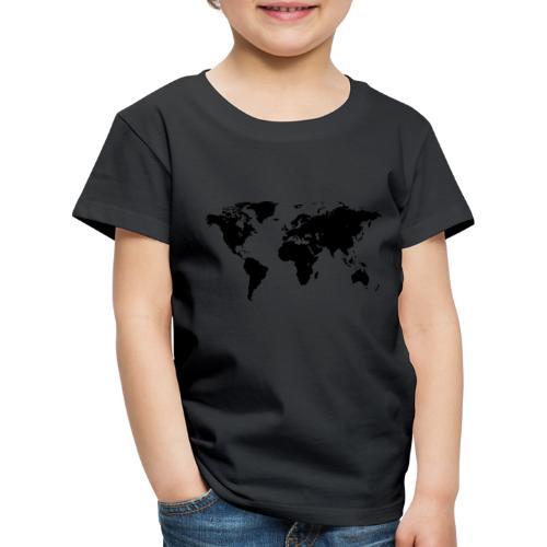 World Map - Kinder Premium T-Shirt