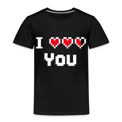I pixelhearts you - Kinderen Premium T-shirt