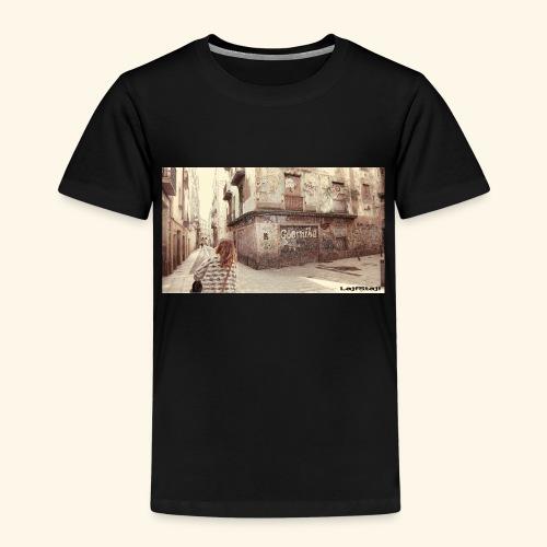 Walking the street - Premium-T-shirt barn