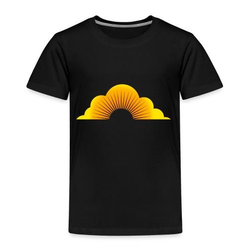 sunny cloud - Kinder Premium T-Shirt