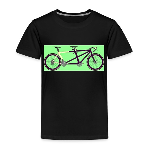 Llum Design 2RDisc Tandem BikeCAD - Kinderen Premium T-shirt