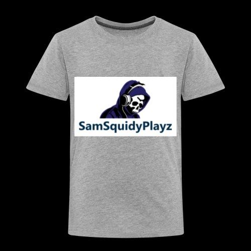 SamSquidyplayz skeleton - Kids' Premium T-Shirt