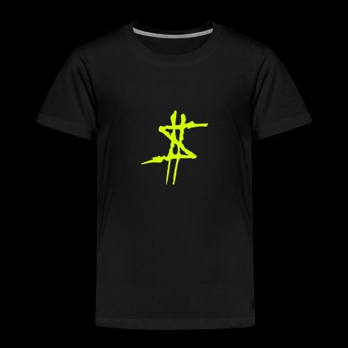 Dollarsign yellow - Premium-T-shirt barn