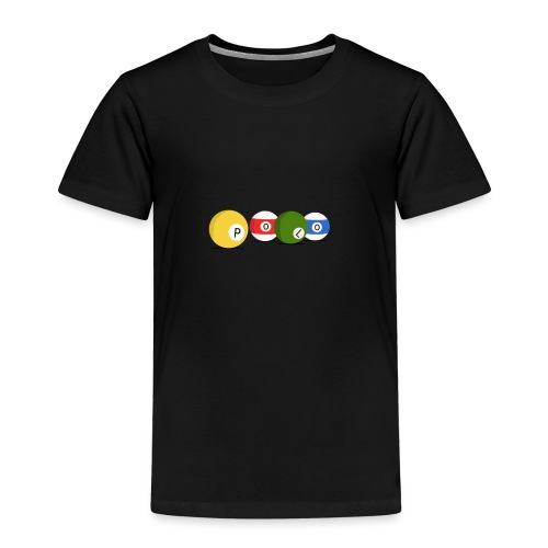 T-shirt Billard Polo - T-shirt Premium Enfant