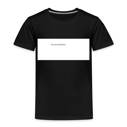 eat sleep sing - Kids' Premium T-Shirt