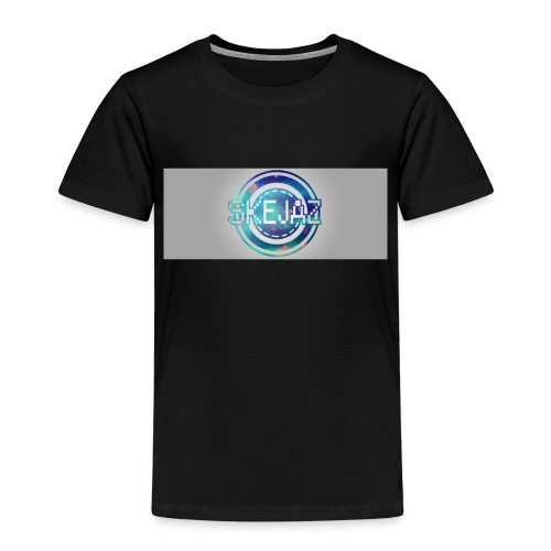 LOGO WITH BACKGROUND - Kids' Premium T-Shirt
