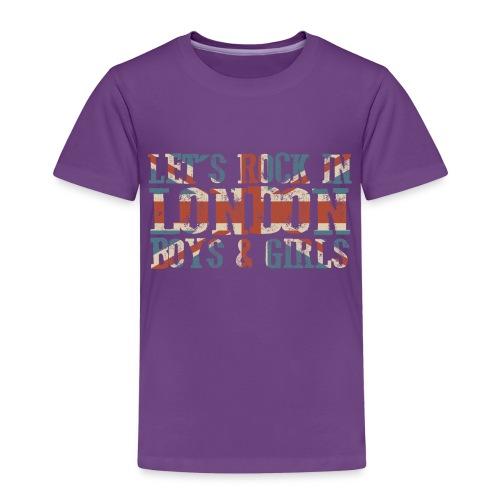 LET'S ROCK IN LONDON - Maglietta Premium per bambini