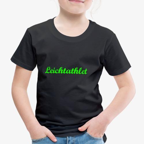 Leichtathlet - Kinder Premium T-Shirt