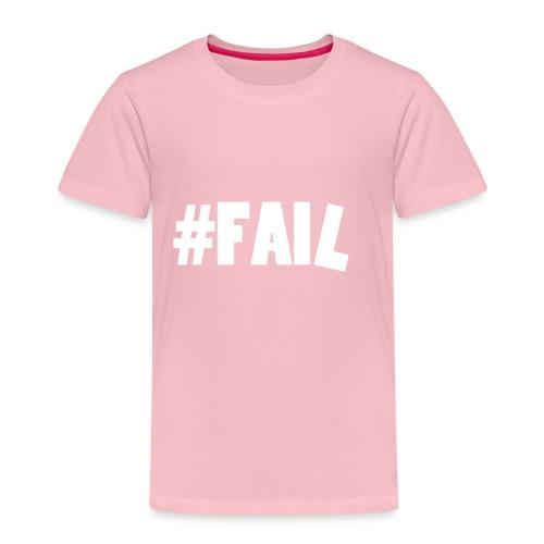 FAIL / White - T-shirt Premium Enfant