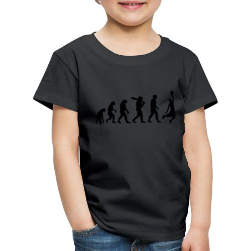 Evolution Basketball - Kinder Premium T-Shirt