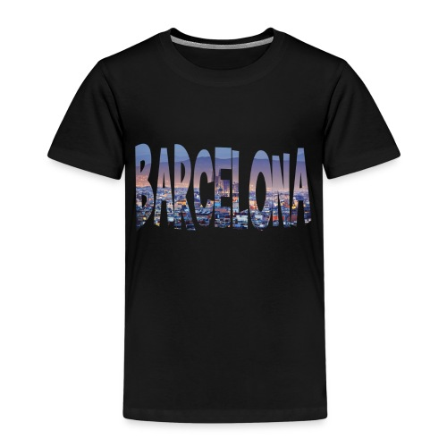 Barcelona - no background - Kinderen Premium T-shirt