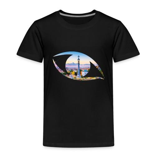 The eye of Barcelona - Kinderen Premium T-shirt