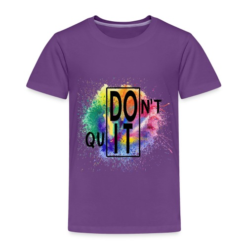 DON'T QUIT, DO IT - Maglietta Premium per bambini