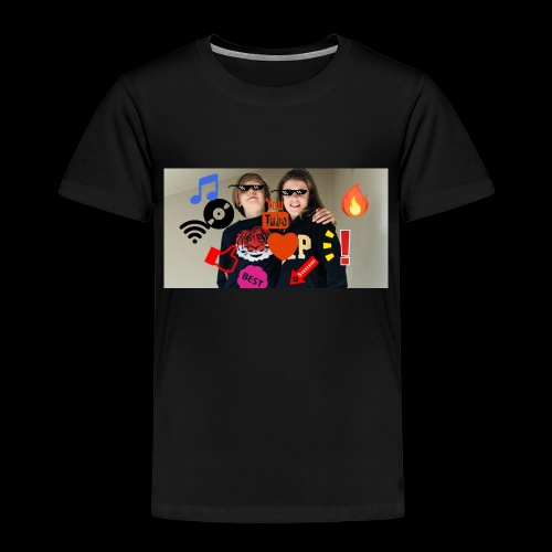 Coolrockskingen och Jojo - Premium-T-shirt barn