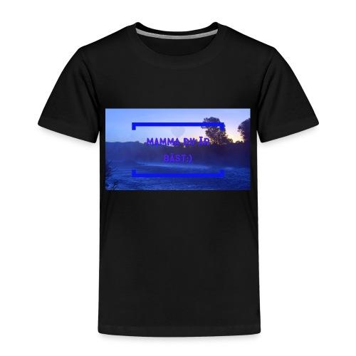 Mamma Du Är Bäst - Premium-T-shirt barn