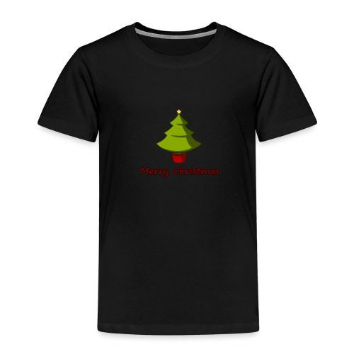 Merry Christmas Design von HoHoHo Merch - Kinder Premium T-Shirt