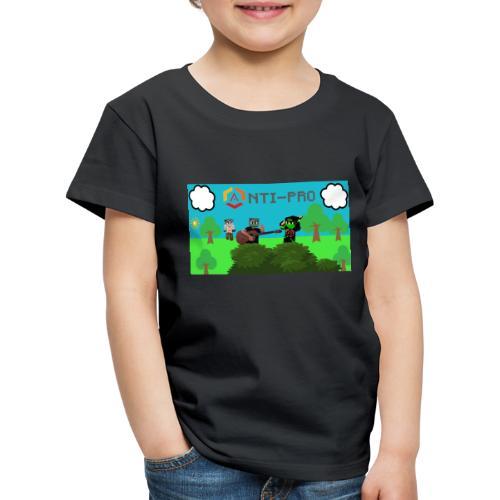 Maglietta Immagine Mario Anti-Pro - Maglietta Premium per bambini