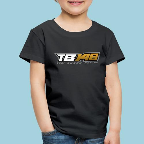 Tobi Logo Grau - Kinder Premium T-Shirt
