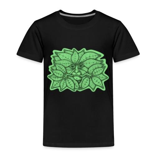 Green Man for Pagan Global Warming/Climate Change - Kids' Premium T-Shirt