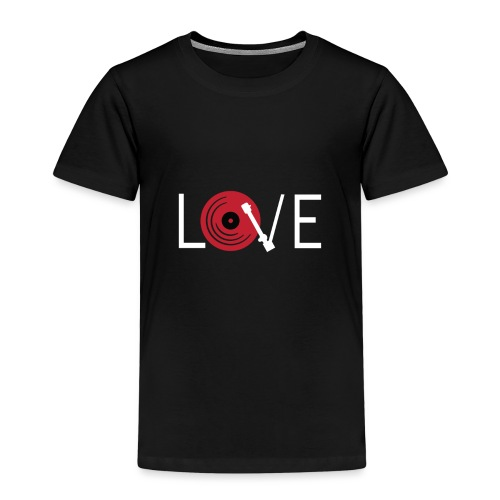 Love vynil - Maglietta Premium per bambini