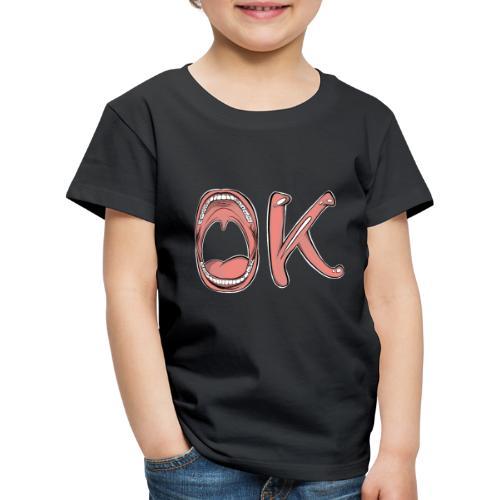 OK - T-shirt Premium Enfant