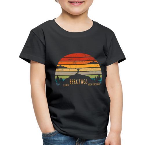 lustige Wanderer Sprüche Shirt Geschenk Retro - Kinder Premium T-Shirt