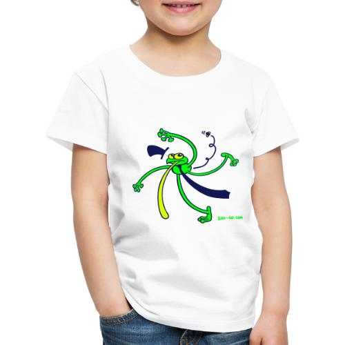 Dancing Frog - Kids' Premium T-Shirt