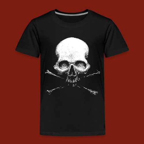 Old Skull - Kids' Premium T-Shirt