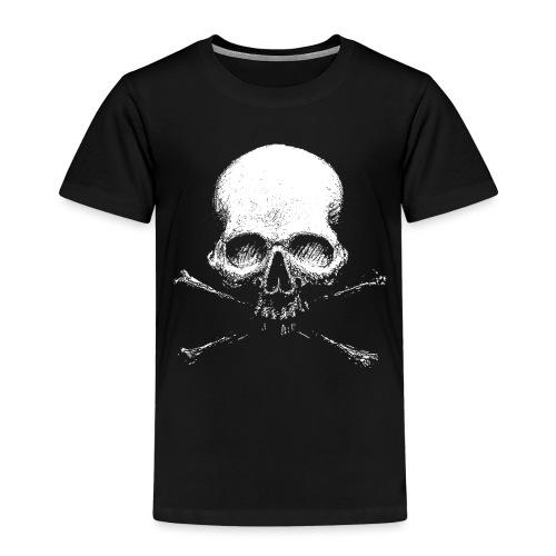Old Skull - Maglietta Premium per bambini