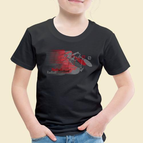 Radball | Earthquake Red - Kinder Premium T-Shirt