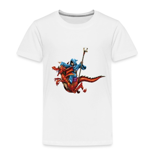 TRoA 30 år - Hvid skrift - Børne premium T-shirt