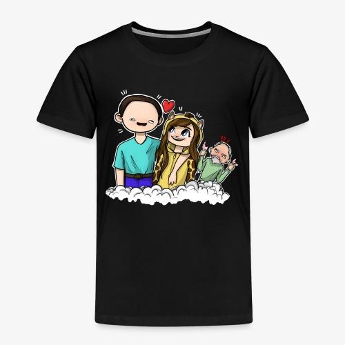 *Limited Edition* Esmee ❤️ Teun (Boze vader) - Kinderen Premium T-shirt