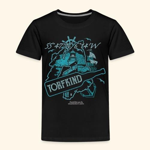 Torfkind Islay Design für Single Malt Whisky-Fans - Kinder Premium T-Shirt