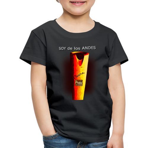 De los ANDES - La Quena - Camiseta premium niño