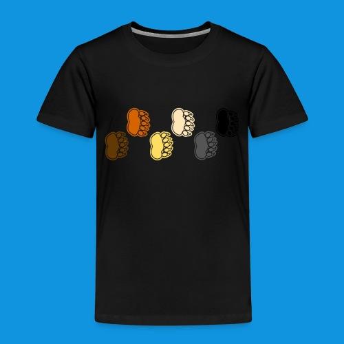 Bear Paws tank - Kids' Premium T-Shirt