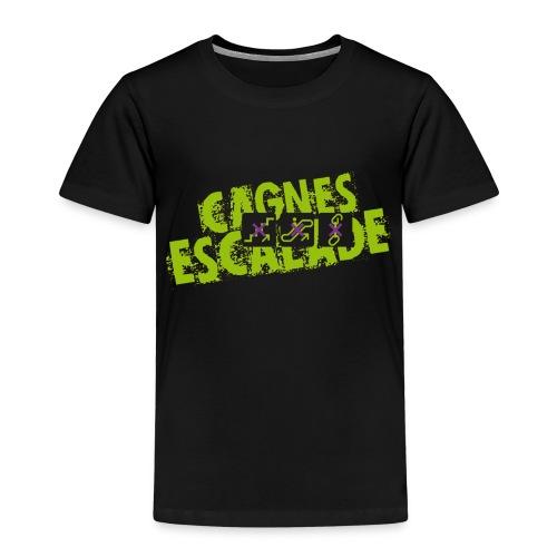 LOGO CAGNES ESCALADE - T-shirt Premium Enfant